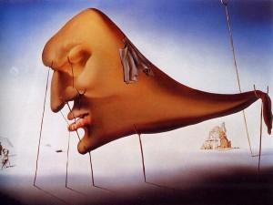 O sonho, de Salvador Dali.